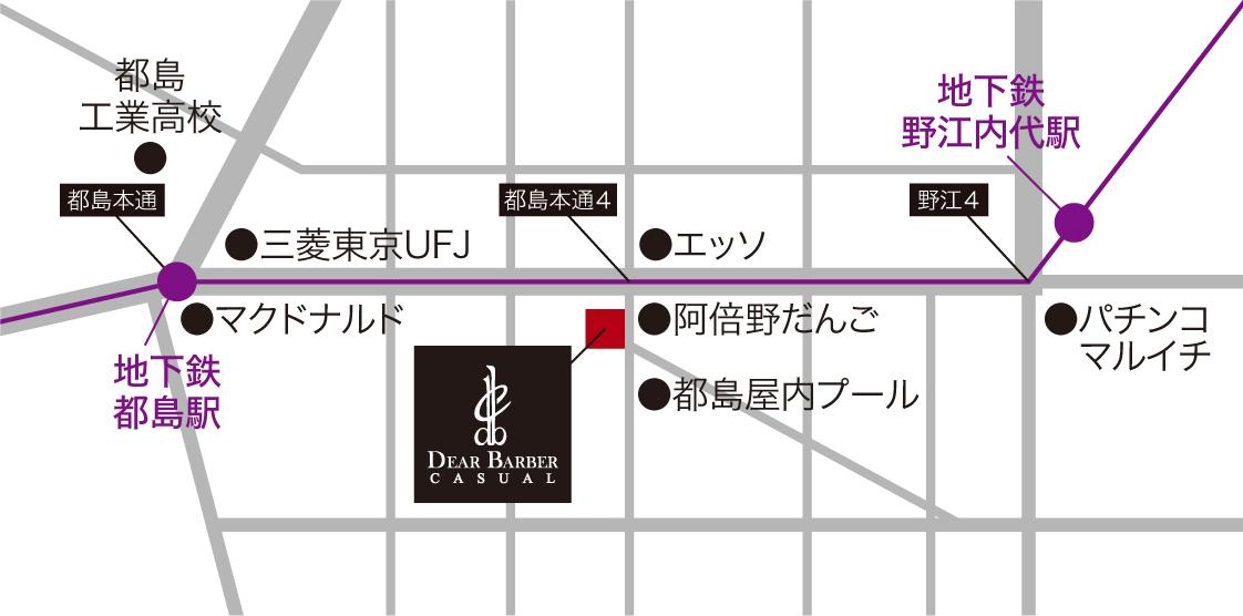 京橋 都島 散髪 地図