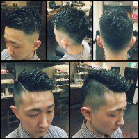 dear barber casual、メンズヘア